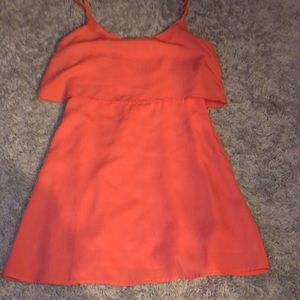 Nwot coral Abercrombie and Fitch dress